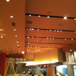 Inside the new Public House at the Luxor.