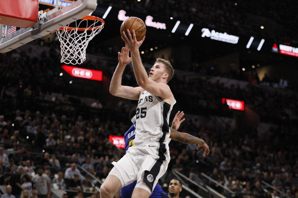 detailed look 9cc05 34d3f 2018-2019 Spurs player reviews: Jakob Poeltl - Pounding The Rock