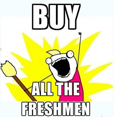 all the freshmen