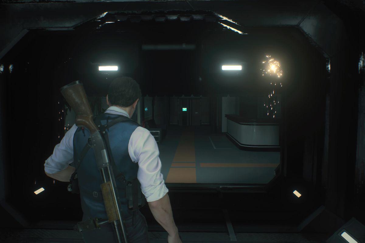 RE2 remake NEST Laboratory — Investigate the Lab