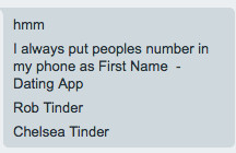 Dating apps have made saving phone numbers complicated - The Verge