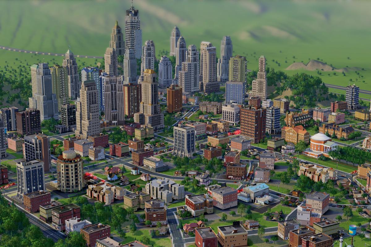 SimCity Big Buildings
