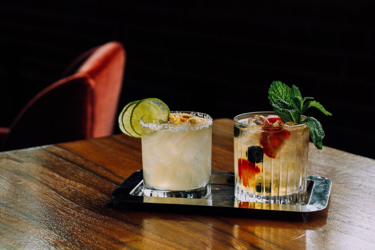 A look at the happy hour drinks at the Ritz.