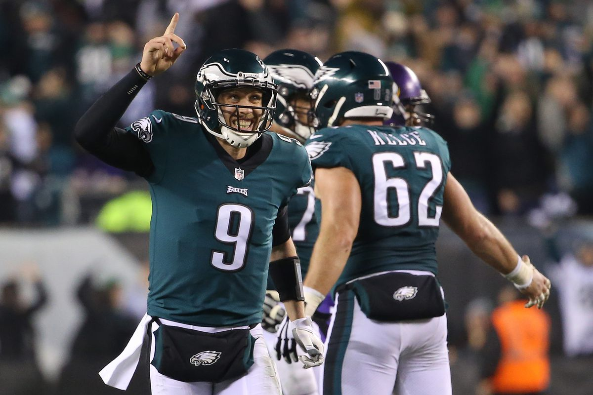 Geoff Burke-USA TODAY Sports. Nick Foles will start at quarterback for the  Eagles ... 09785e28b