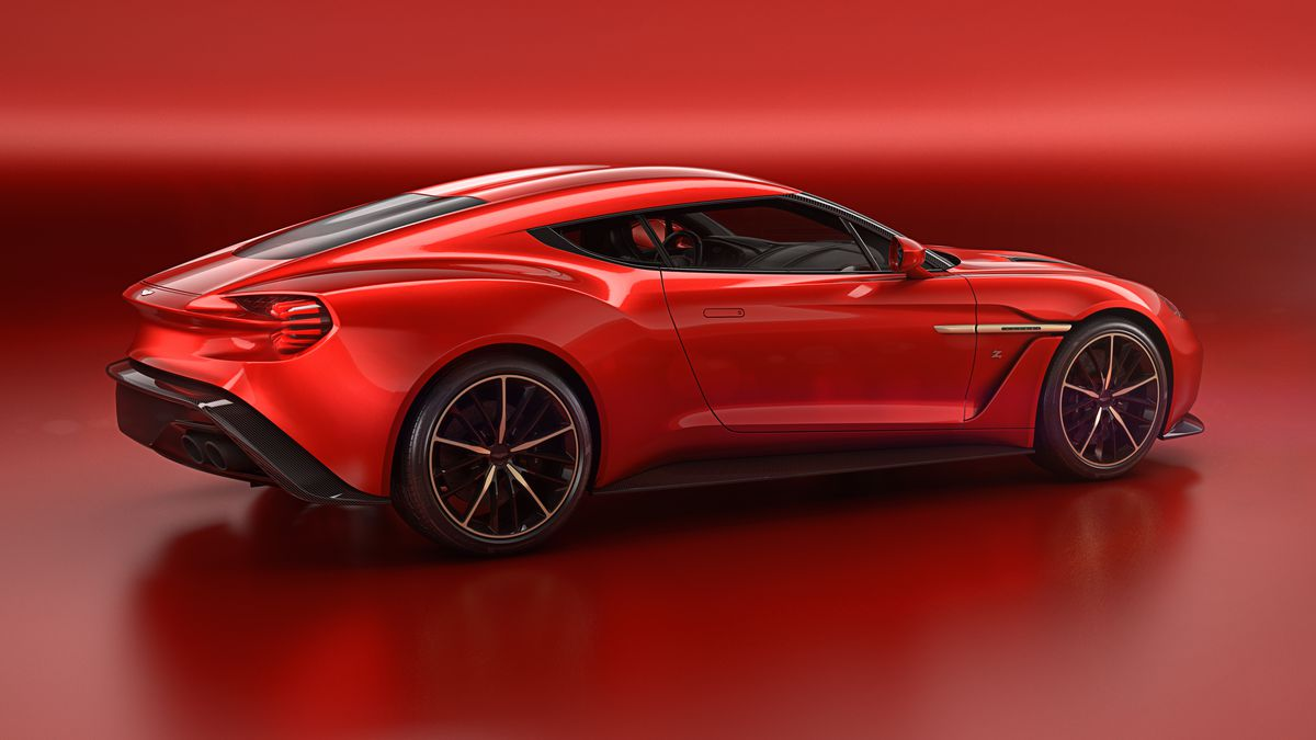 Aston Martins Most Beautiful Car In Years Is The Vanquish Zagato - Aston martin vanquish zagato