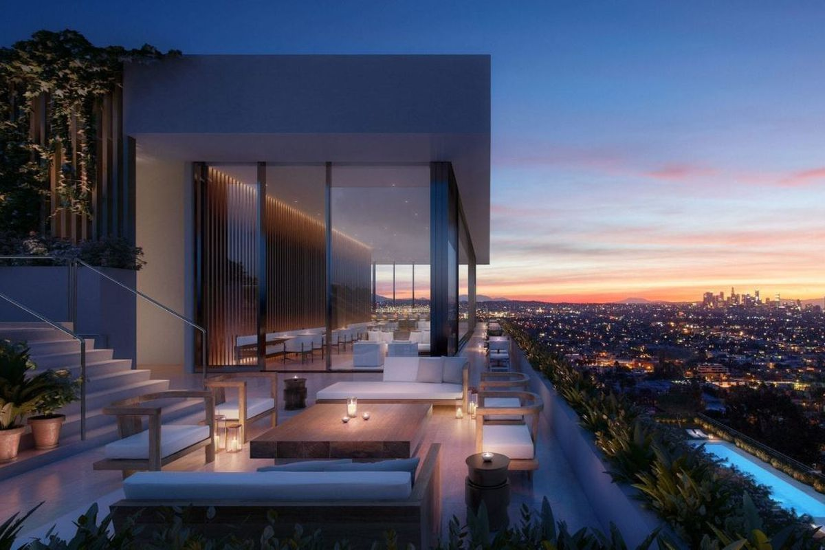 Edition West Hollywood rendering