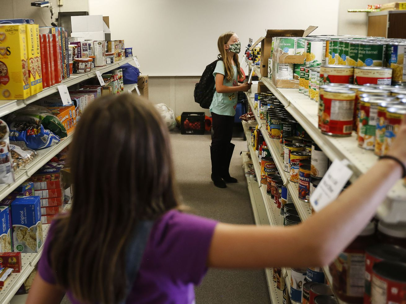 Pantry at Mill Creek Elementary aims to ensure students never go hungry