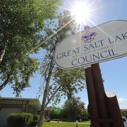 The Boy Scouts of America Great Salt Lake Council building is pictured in Salt Lake City on Thursday, May 11, 2017. The Church of Jesus Christ of Latter-day Saints announced significant changes to the activity program for young men ages 14-18.