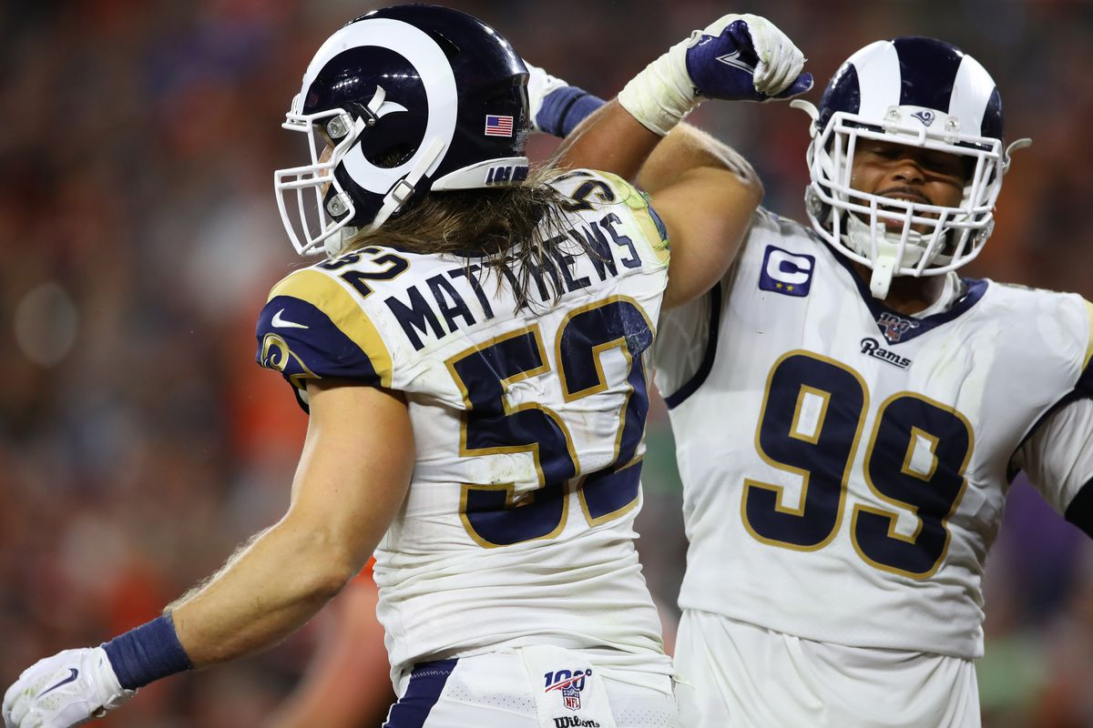 big sale 3e5a8 aa344 LA Rams at Cleveland Browns: Five Rams to watch revisited ...