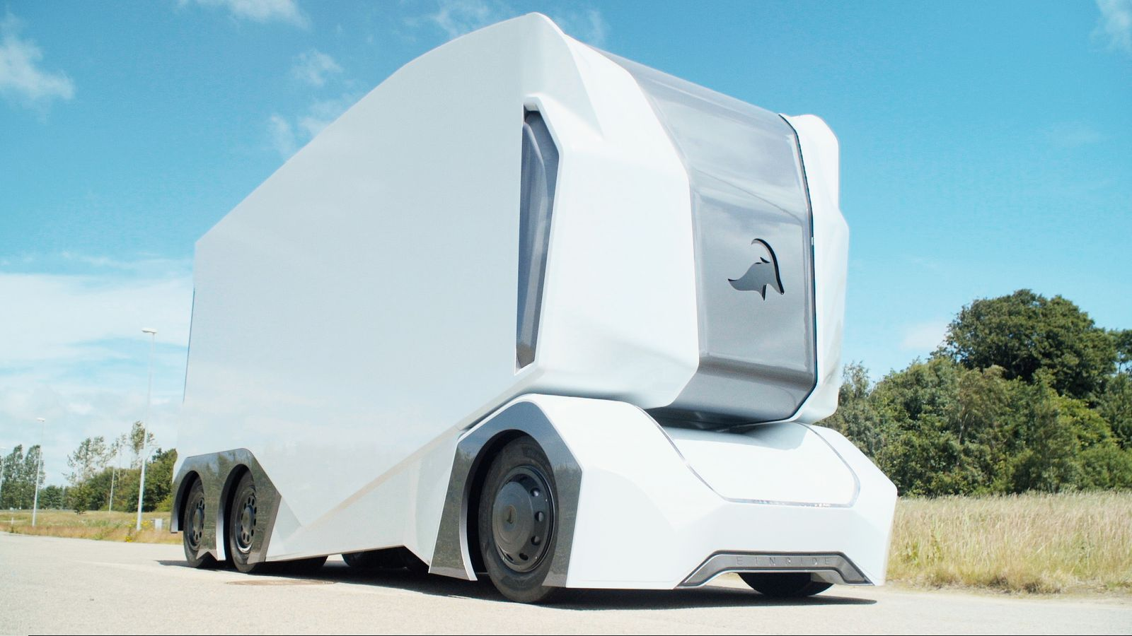 This self-driving truck has no room for a human driver — literally