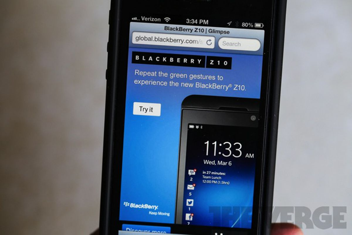 BlackBerry giving iOS and Android users a taste of BB10 with