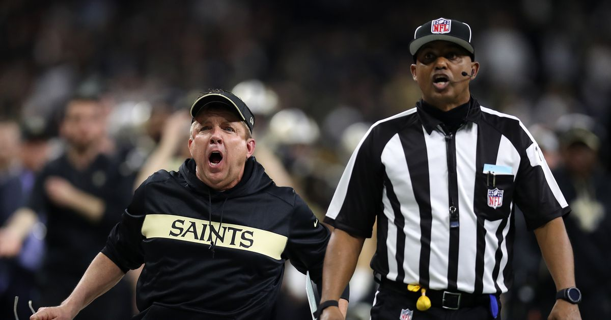 Report: Pass interference review to go one-and-done like Saints in the playoffs