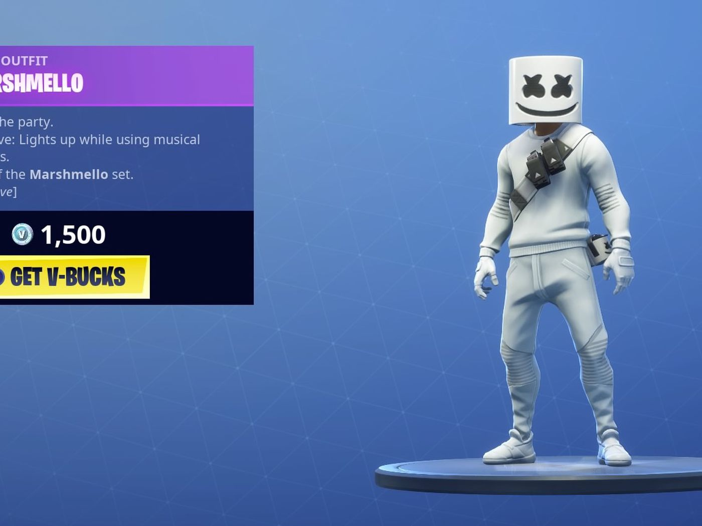 Marshmello Fortnite Concert How To Watch The Show Online The Verge