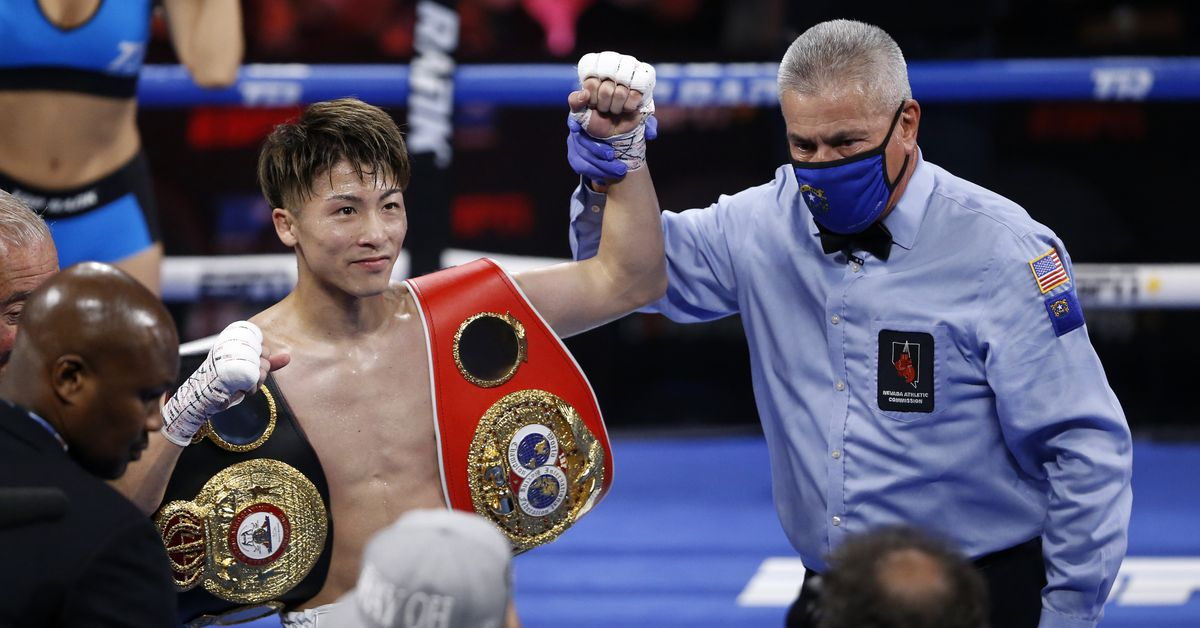 Results and highlights: Inoue crushes Dasmarinas to retain titles - Bad Left Hook