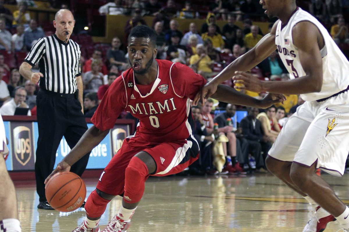 Geovanie McKnight and Miami guard play leads the way for a 71-60 victory.