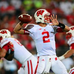 Joel Stave with the delivery.