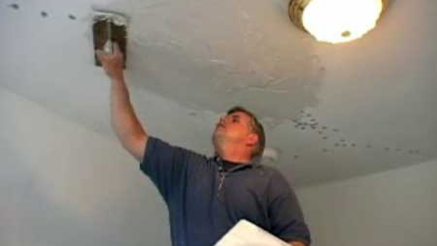How To Repair A Plaster Ceiling This