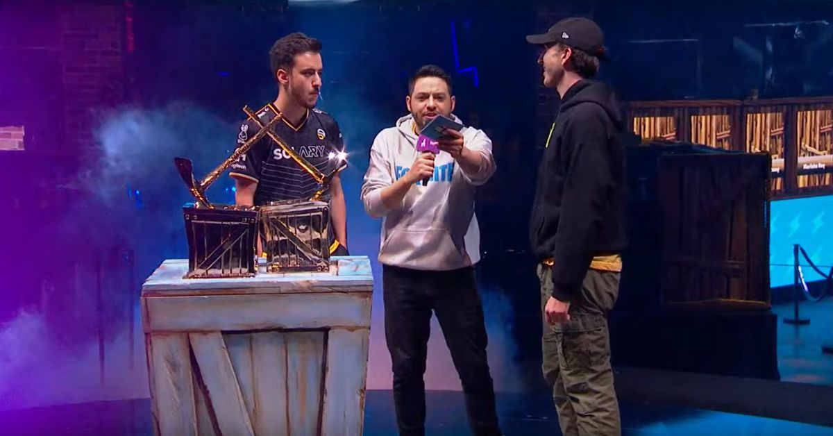Fortnite Celebrity Pro-Am: Streamer Airwaks and musician RL Grime win