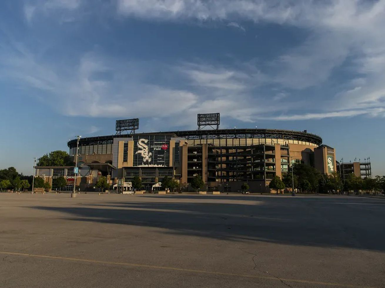 Guaranteed Rate Field's 70 acres of surface parking lots should be ripe for redevelopment.