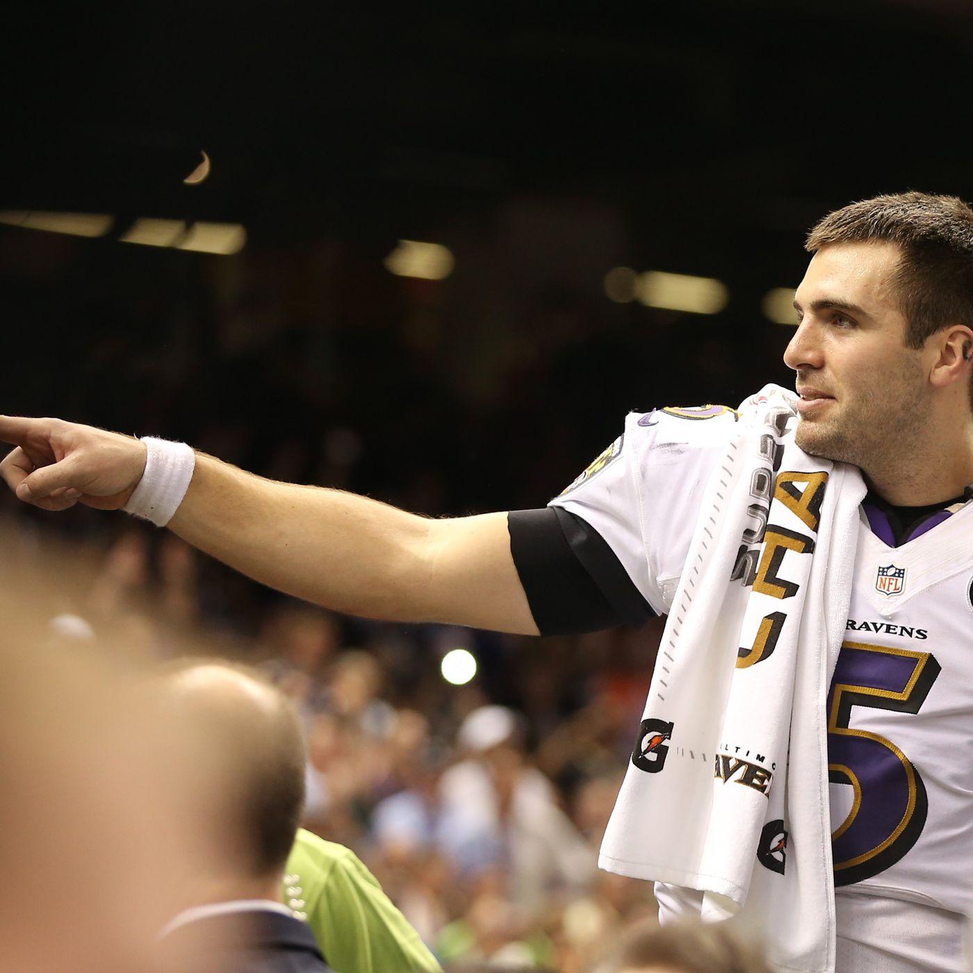 Joe Flacco ISN'T an ELITE quarterback- but I would bet money that ...