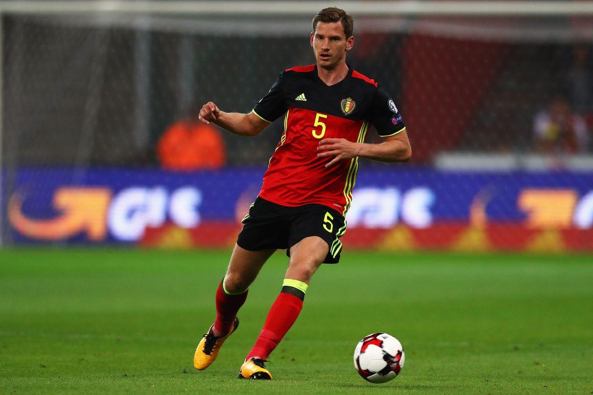 Jan Vertonghen ties Belgium record scores in World Cup qualifying