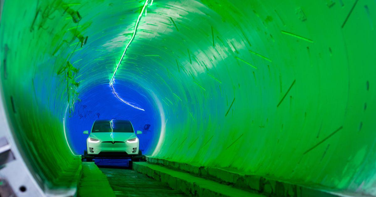 Elon Musks Vegas loop wont transport as many people as promised