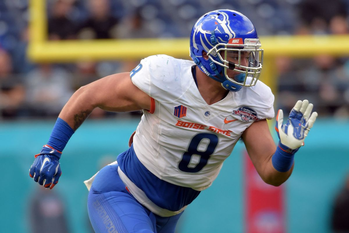 Colts met with Kamalei Correa at NFL Combine - Stampede Blue b618923e8