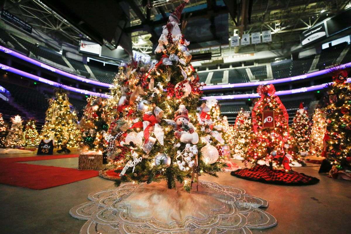 Salt Lake City Christmas 2021 2020 Festival Of Trees Will Be Virtual Due To Covid 19 Pandemic Deseret News
