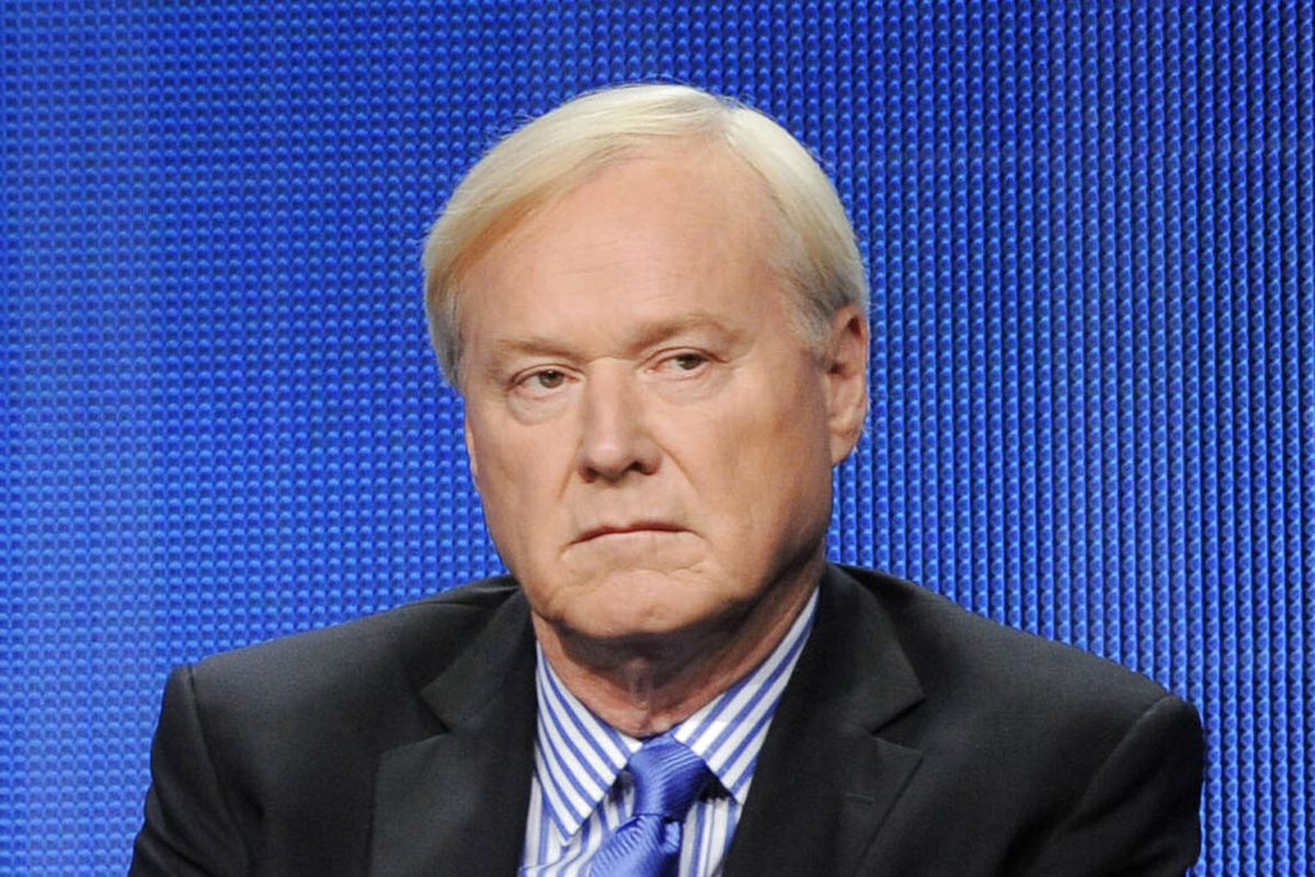 MSNBC host Chris Matthews takes part in a panel discussion at the NBC Universal summer press tour in Beverly Hills, Calif.
