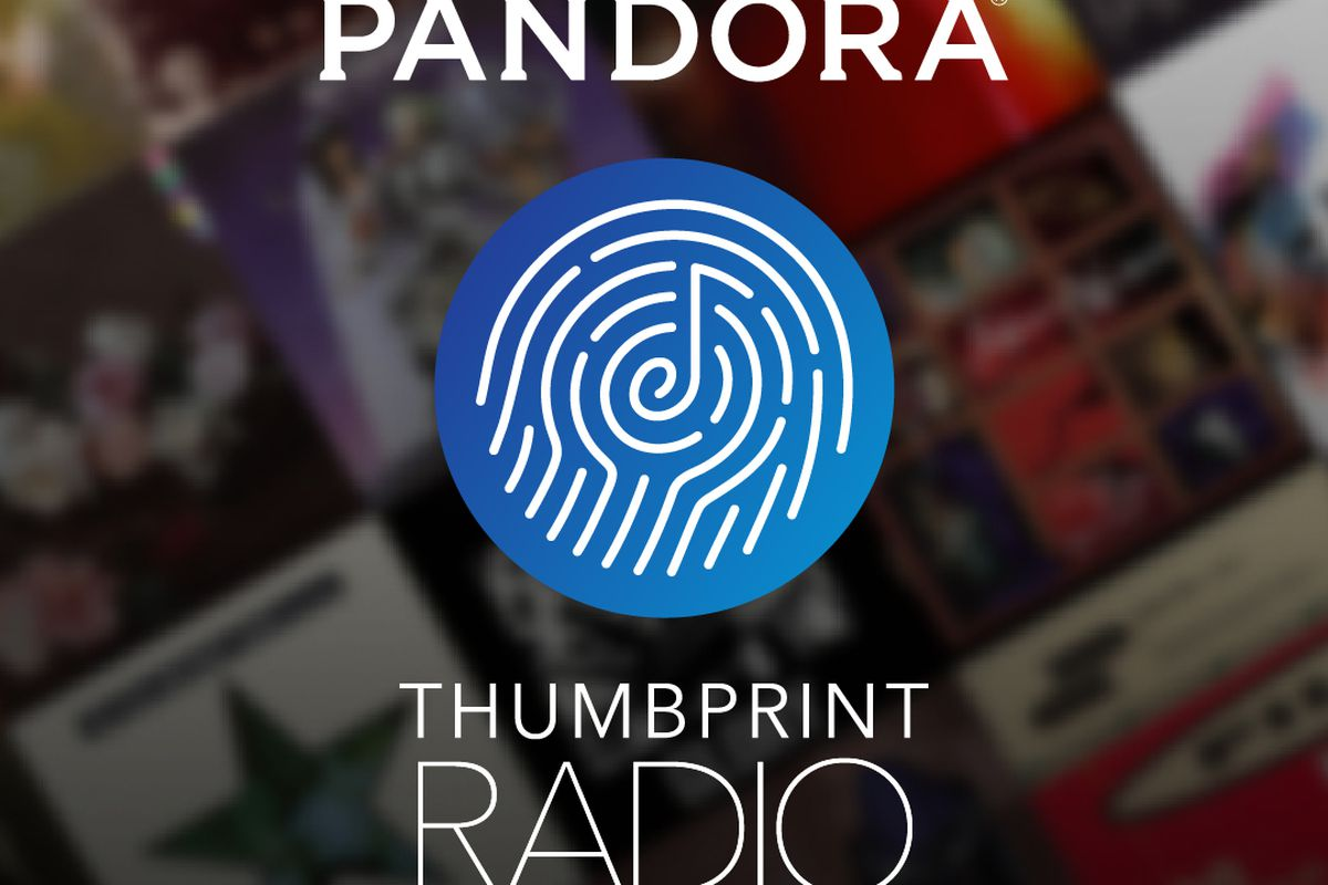thumbprint radio is the music you once liked and may or may not still like - Best Pandora Christmas Station