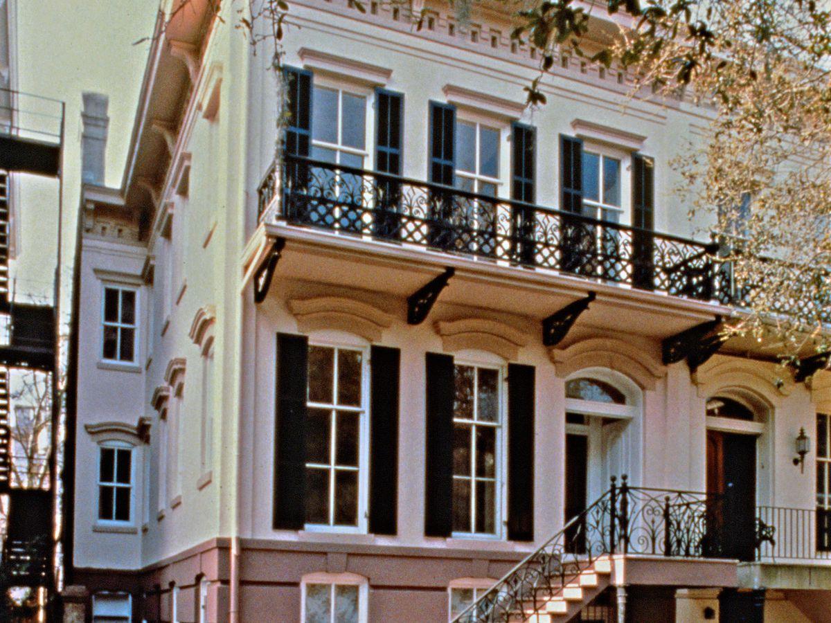 Savannah, GA house exterior