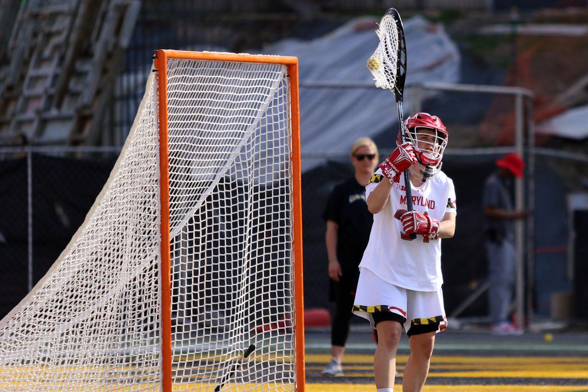 Maryland women's lacrosse Megan Taylor vs. Michigan