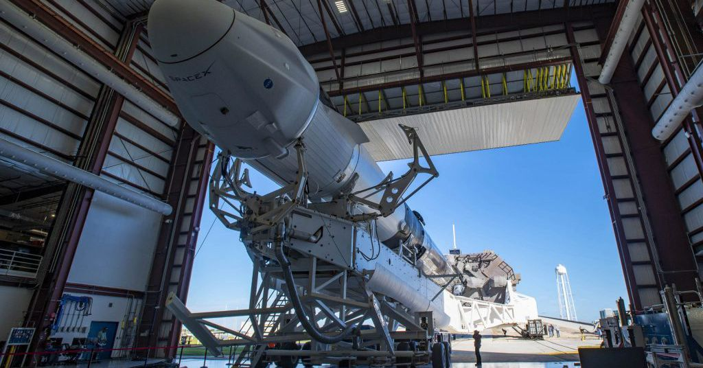 SpaceX is about to send a second Dragon capsule to the space station