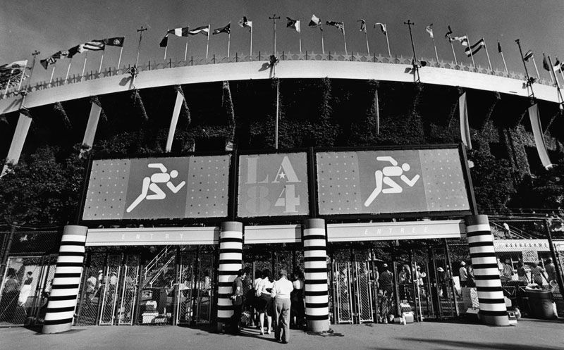 Coliseum, 1984 Olympics