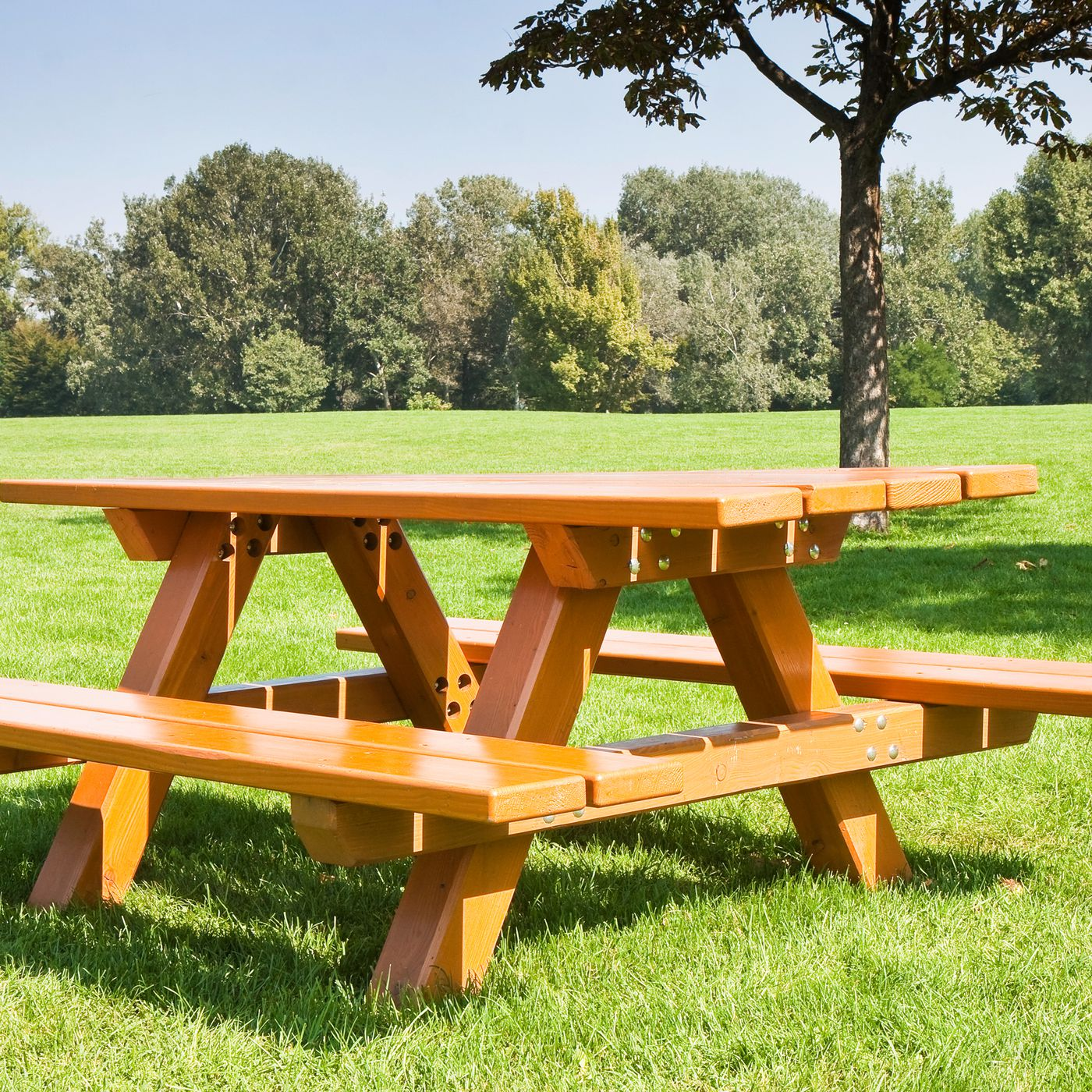 How To Build A Clic Picnic Table With Benches This Old House