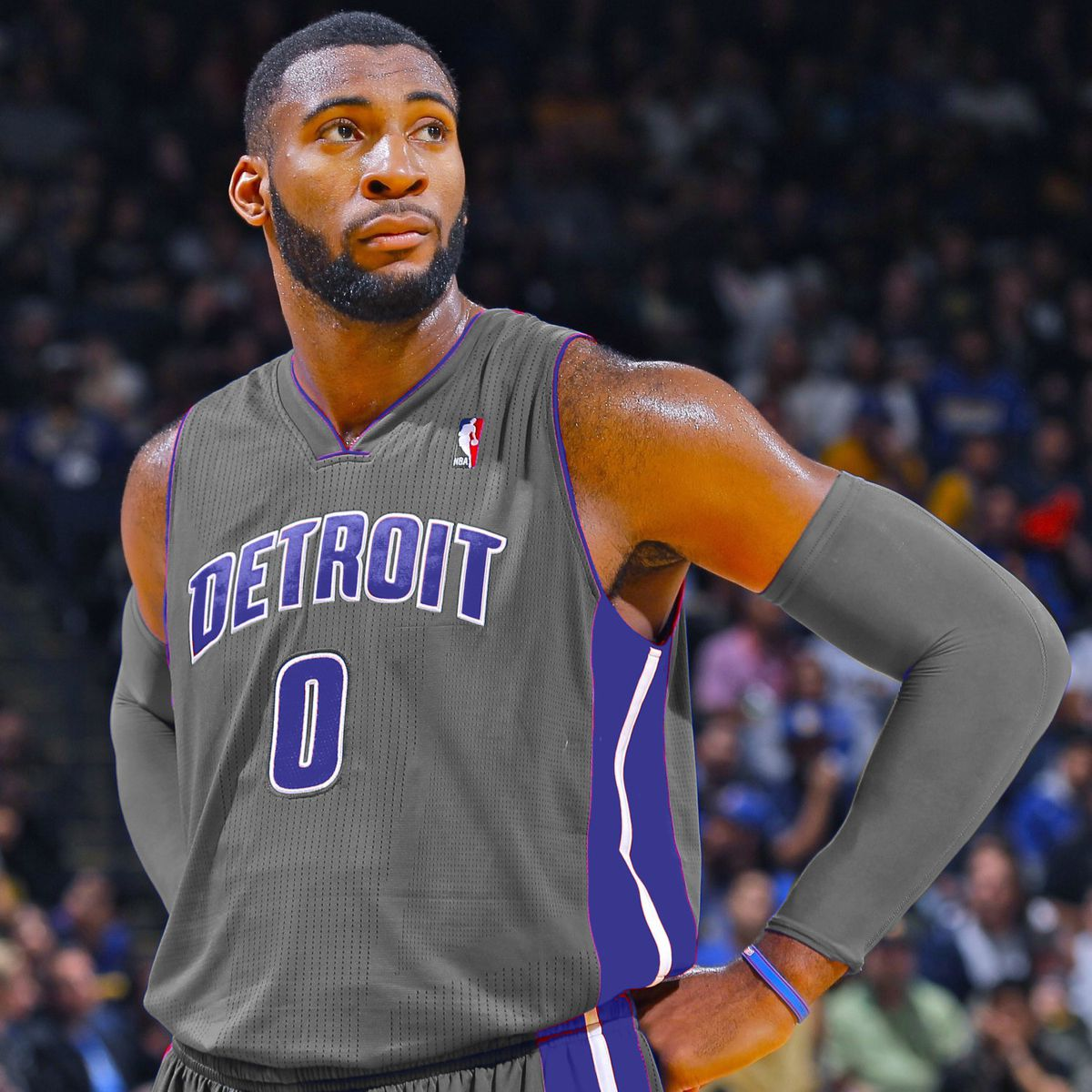 cheap for discount b24bd 2f0aa Detroit Pistons alternate uniforms: Gray the new shade ...