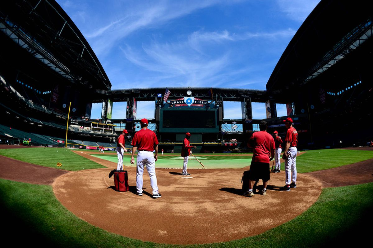 The waiting is over. Let's play ball.