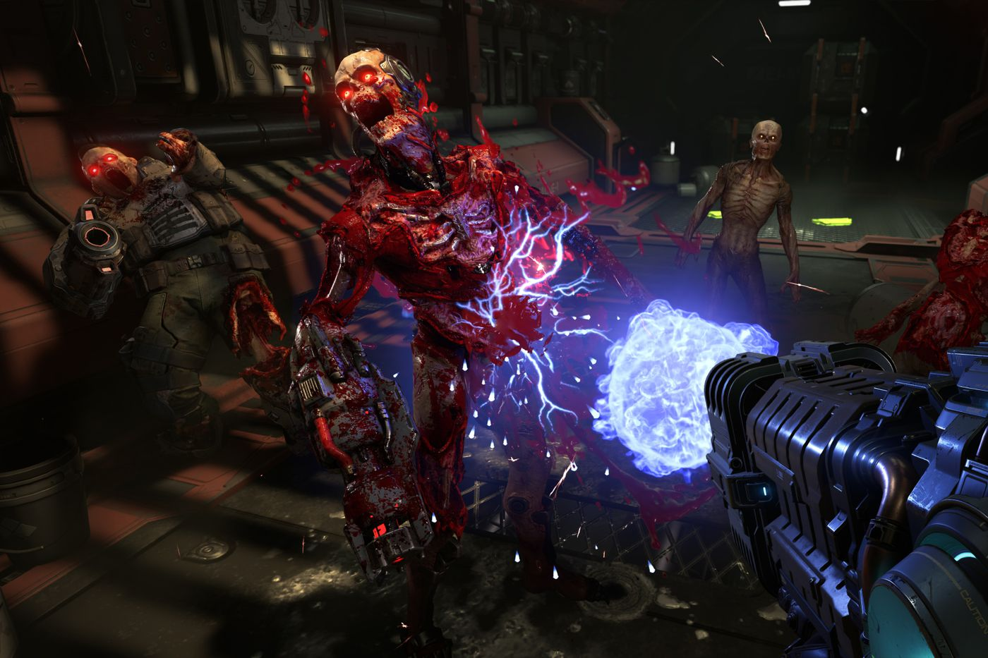 Doom Eternal Empowered Demons May Update Coming Soon Polygon