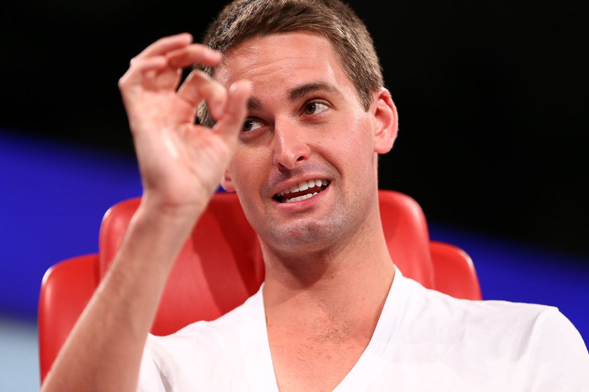 Snapchat CEO Evan Spiegel on Diversity, Features for the Olds and More at Code Conference 2015 (Video)