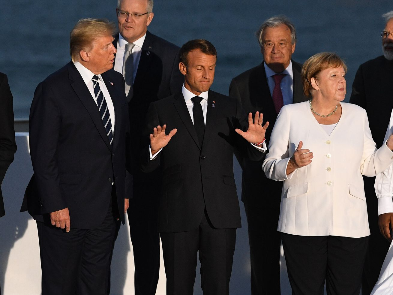 Heads Of Government Attend G7 Summit