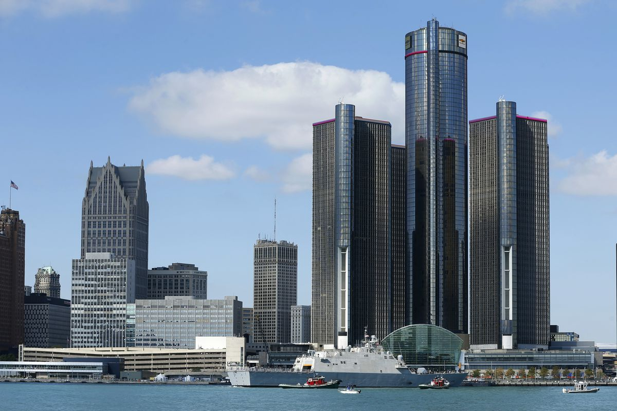 The Gm Renaissance Center On Detroit S Waterfront Jeff Kowalsky Afp Getty Images
