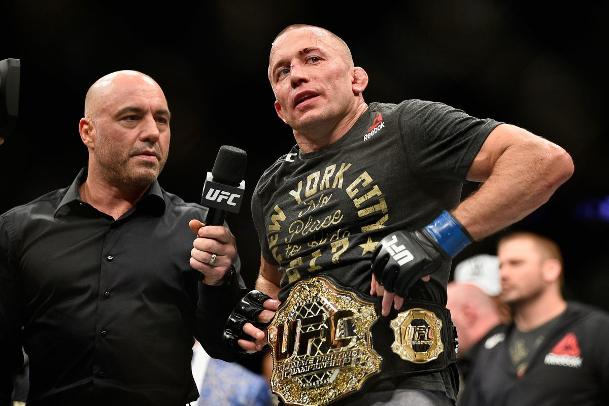 """Georges St-Pierre says he still has """"almost two years"""" left in his UFC contract."""