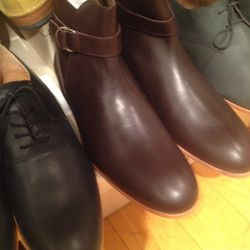 Leather boots, $90