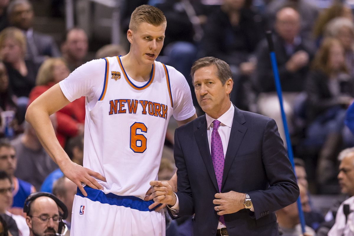 official photos 39da5 0b426 Vecsey: Kristaps Porzingis skipped his exit interview over ...