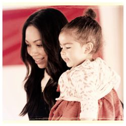 Monica Rose with her daughter, Alaia
