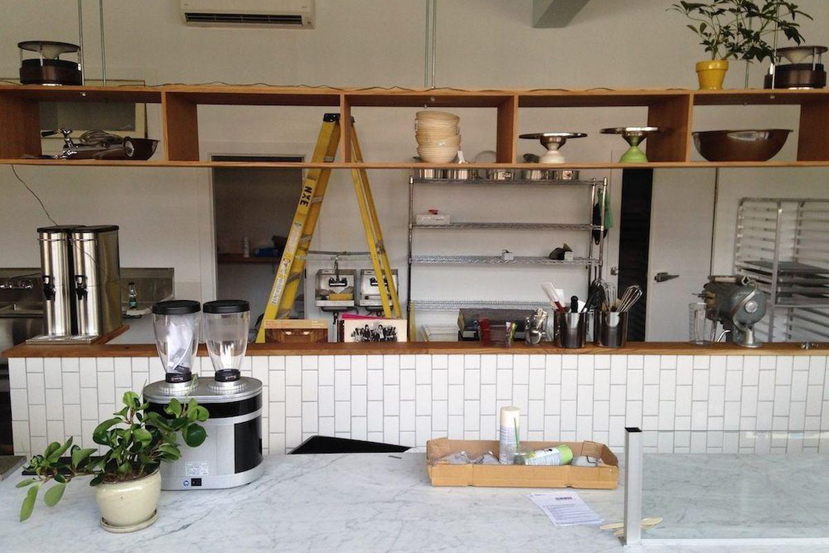Interior of Tandem Coffee + Bakery. [All photos: Adam H. Callaghan]