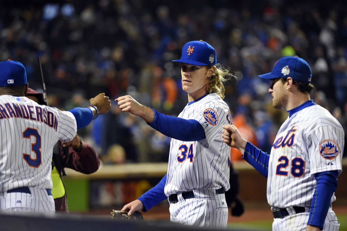 Syndergaard pitched the Mets to victory in Game 3.