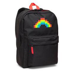 "<a class=""ql-link"" href=""https://www.thinkgeek.com/product/kols/"" target=""_blank"">8-Bit Rainbow Backpack</a>, $39.99"