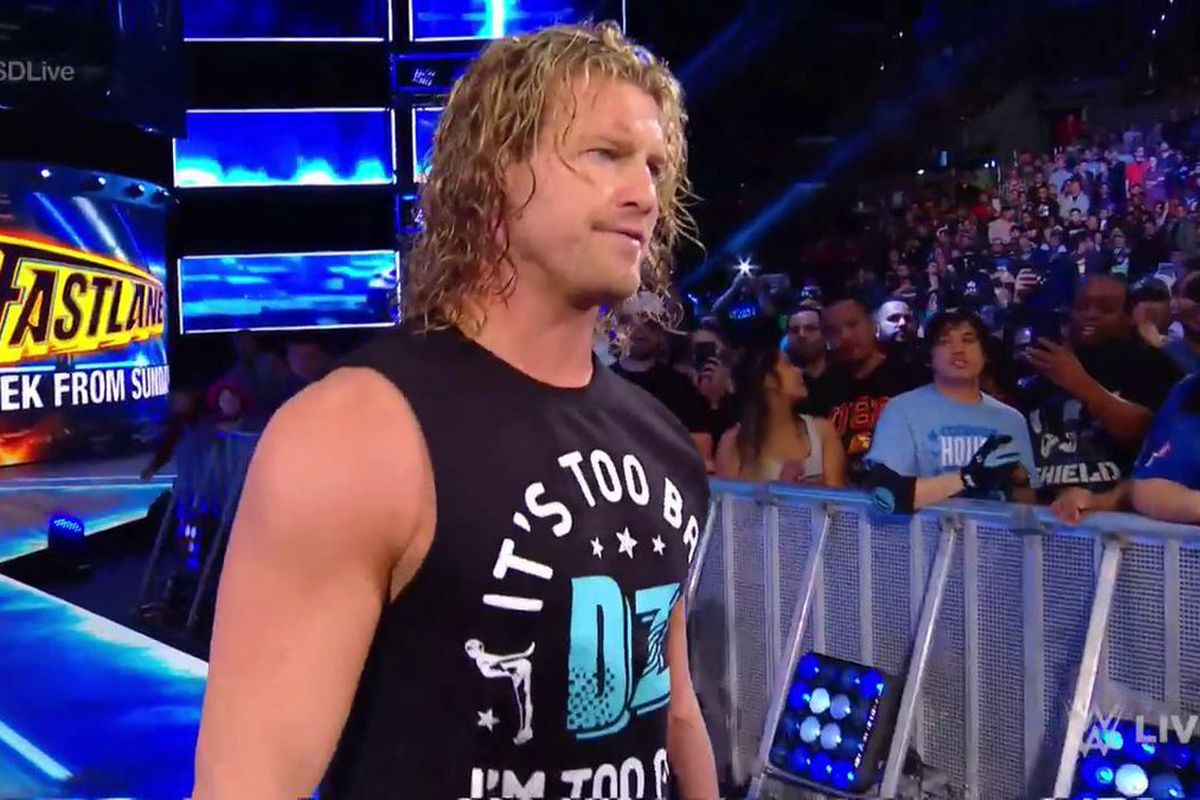 Dolph Ziggler Runs Through The Crowd To Superkick Kevin