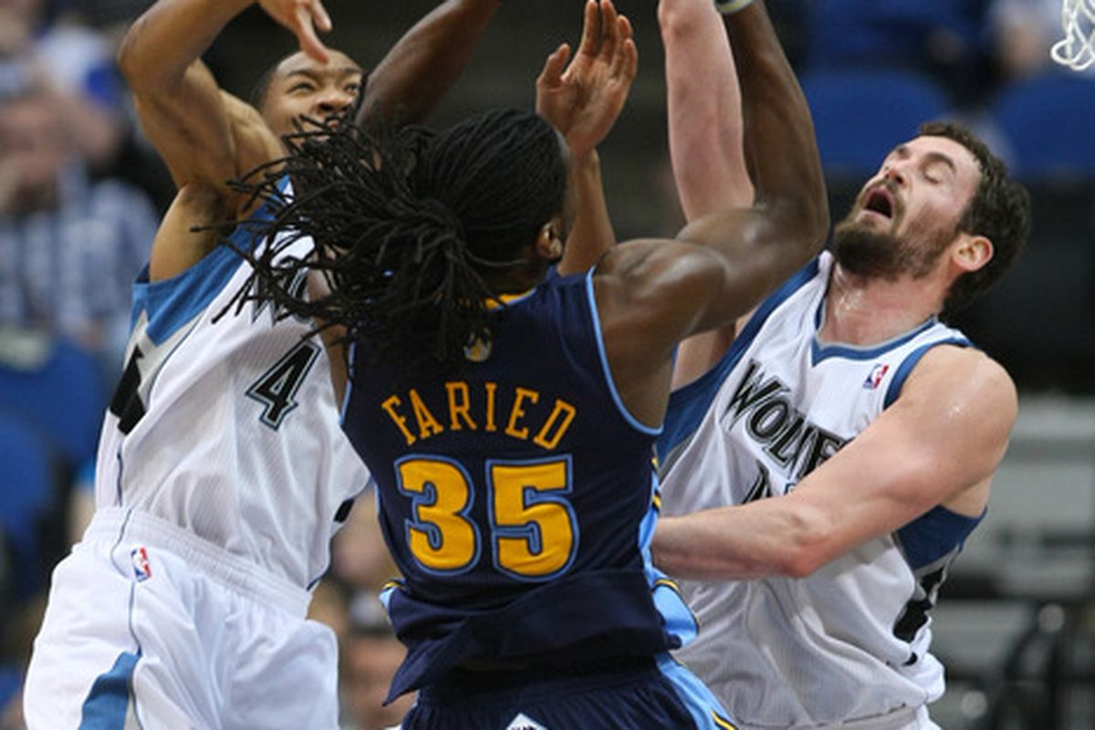 Kenneth Faried must again free his inner beast-mode against Kevin Love.